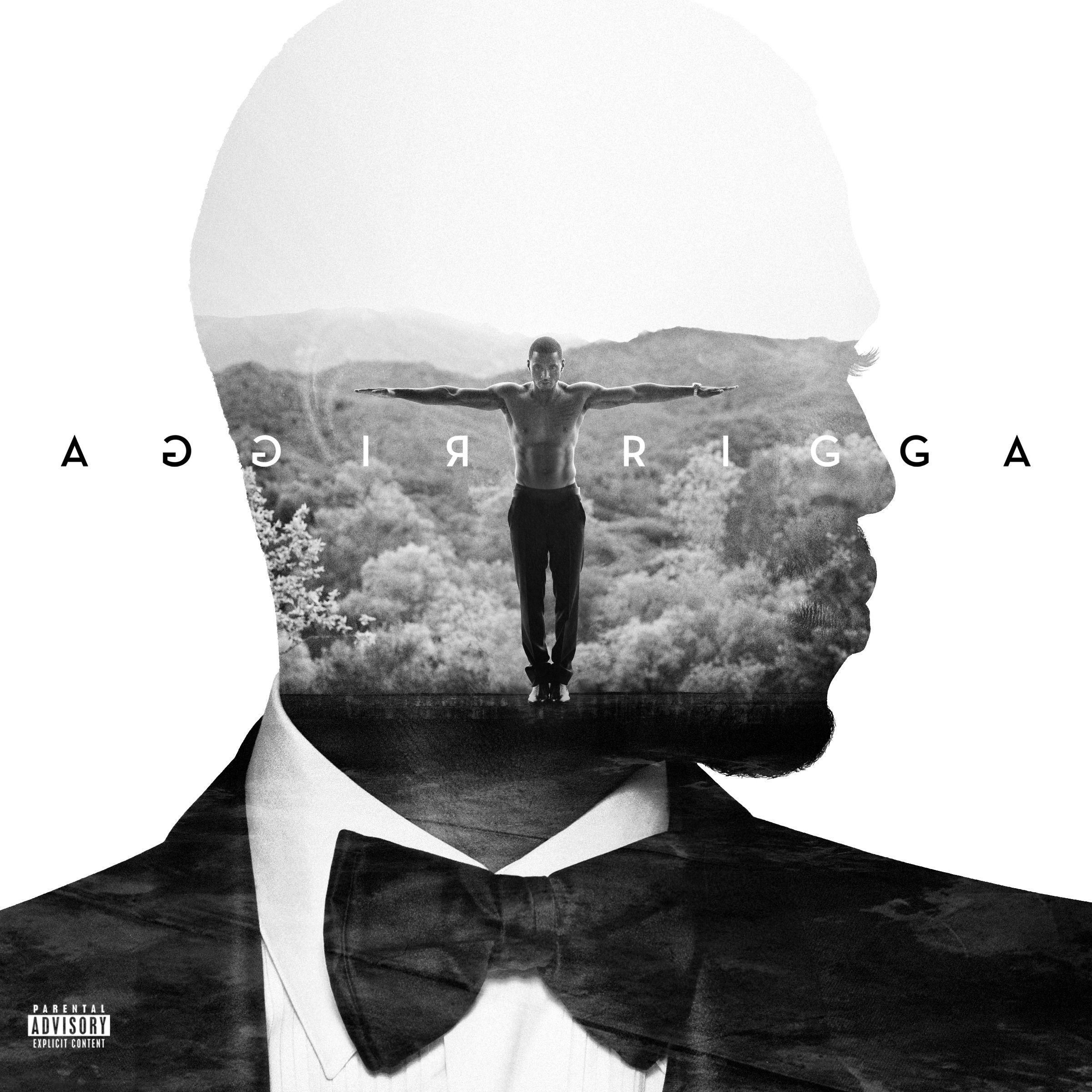 Trey Songz Trigga Design da capa do álbum, Arte da