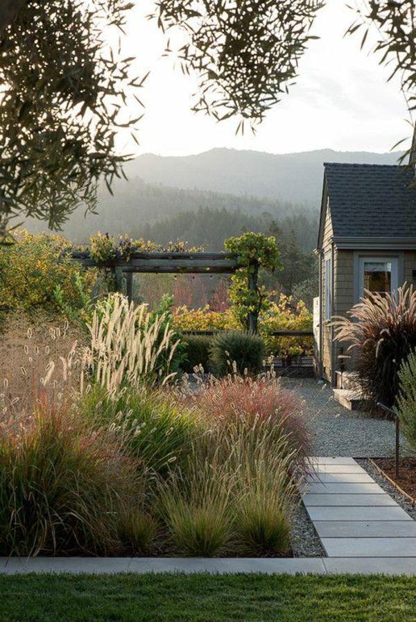 Vorgarten Gestaltung - Wie wollen Sie Ihren Vorgarten gestalten? #california