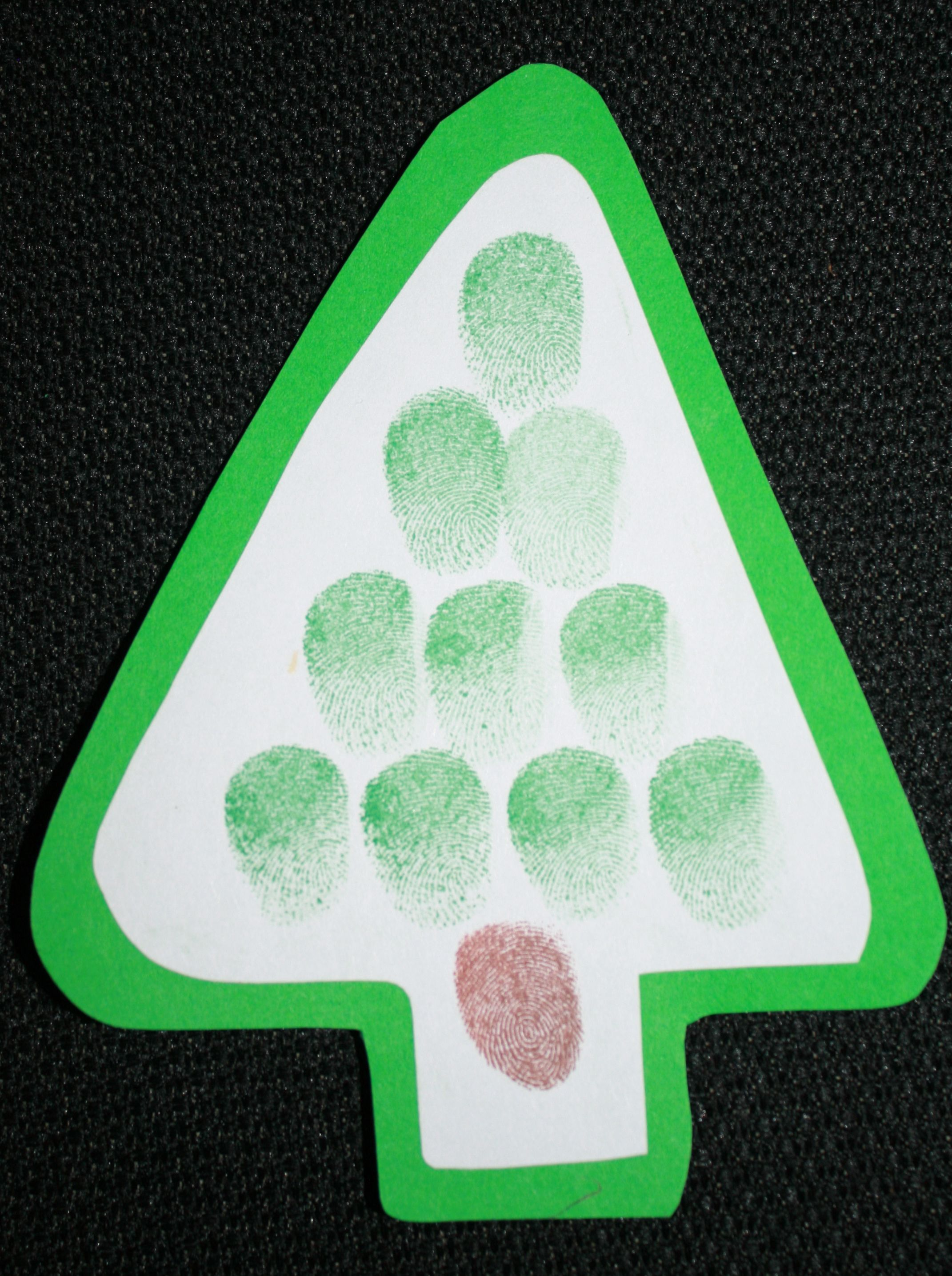 Fingerprint Christmas Tree Ornaments Christmas Ornament Crafts Preschool Christmas Christmas Tree Poem