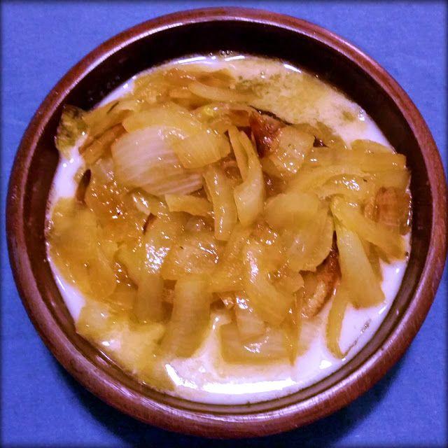 Give it Forth: Harleian MS. 279 (ab 1430) - Soupes Dorroy- Onion Soup II. Блюдо для любителей лука, хотя имеет довольно необычный вкус