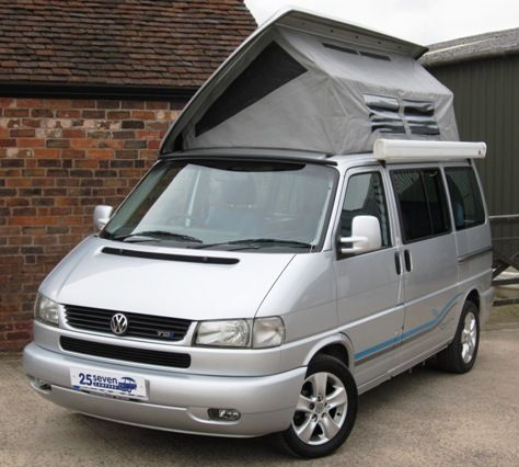 Camper Vans For Sale >> Silver Vw Bilbos Camper Van Pop Up Roof Google Search