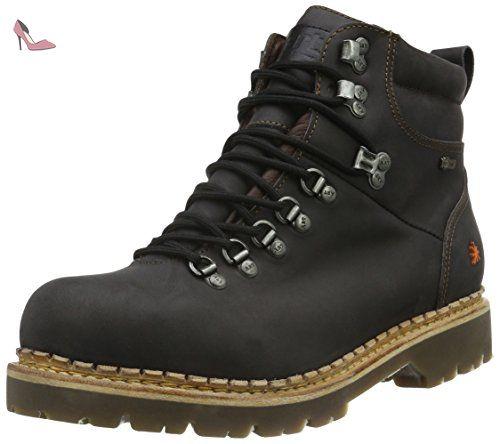 Art Alpine 20ème 801, Boots homme - Noir (Moka), 39 EU
