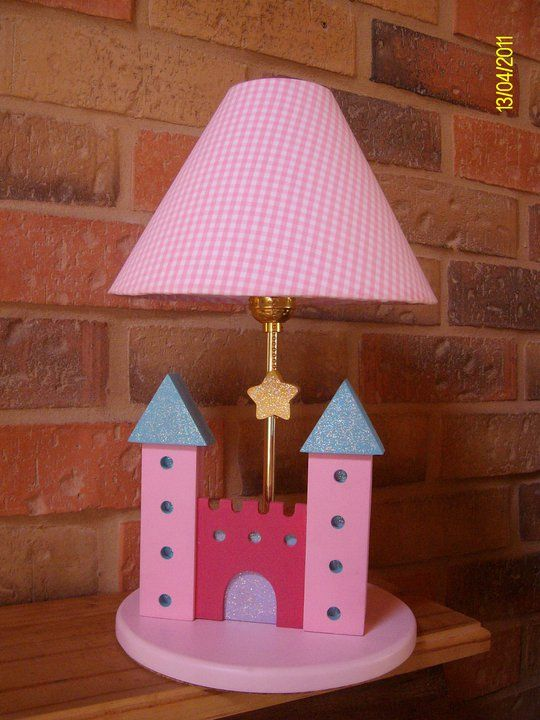Princess lamp for girls room decor | Kids lamps ...