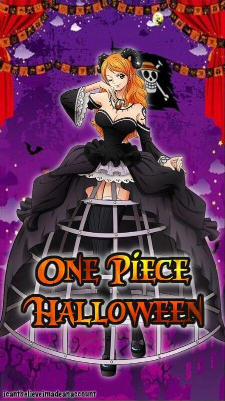 One Piece Nami Halloween One Piece One Piece Halloween One