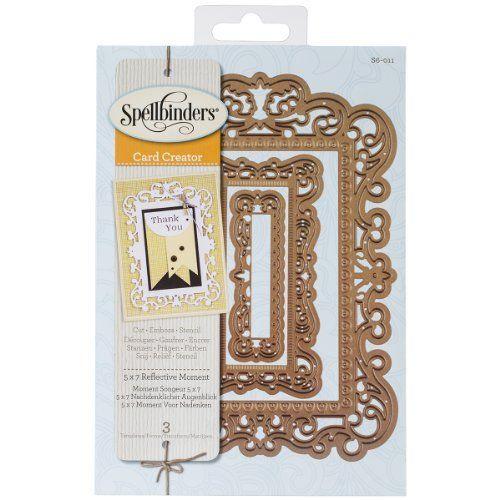 Spellbinders S5-211 Nestabilities /'Romantic Rectangles Two/' Scrapbooking Temp...