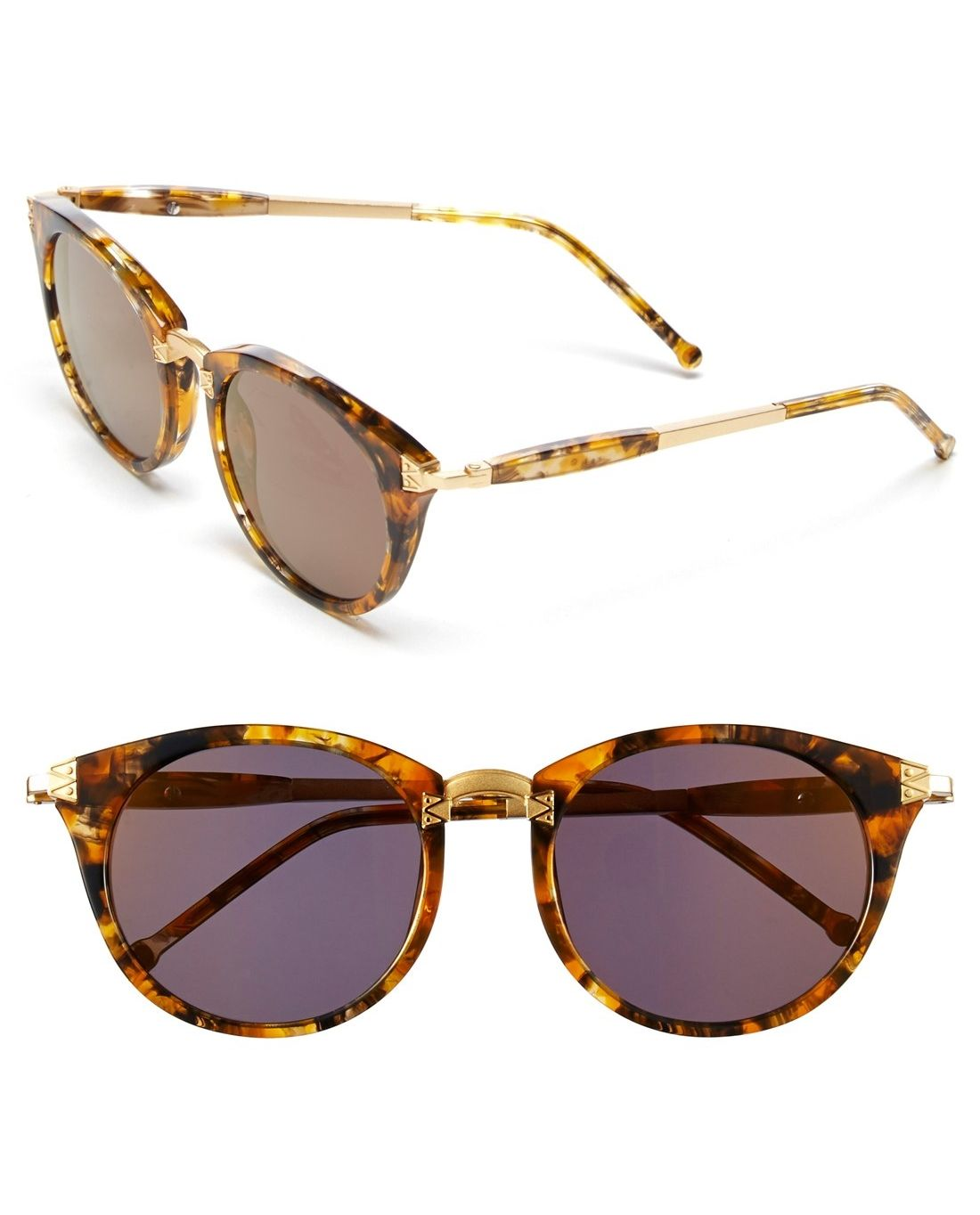 2455d43bdc26 These retro cat-eye sunglasses totally amp up the cool-factor ...