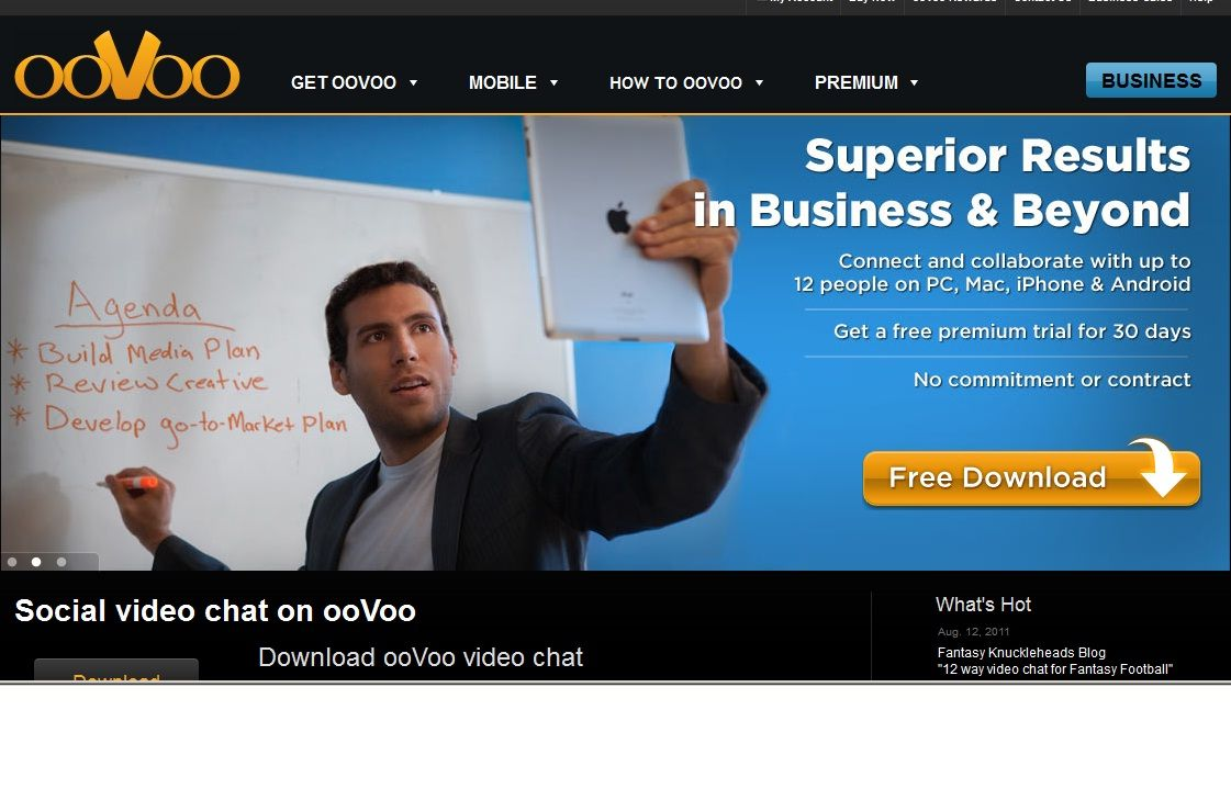 How to Use ooVoo Video Chat and Conference Call for Business
