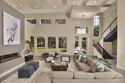 Plan 31836dn Modern Masterpiece Modern House Design House Design Luxury Living Room