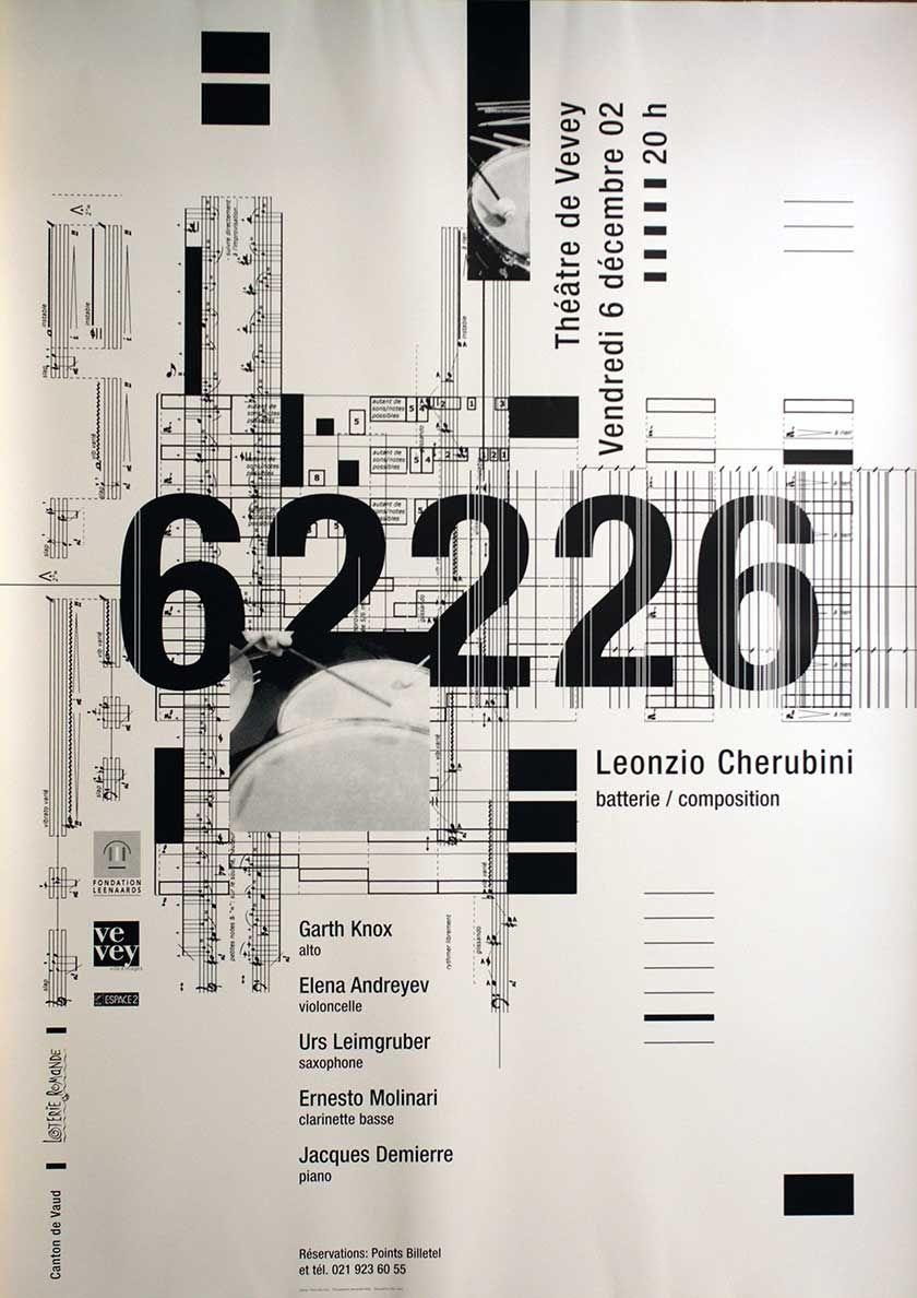 Pierre Neumann – 62226, Leonzio Cherubini, Théâtre de Vevey, 2002