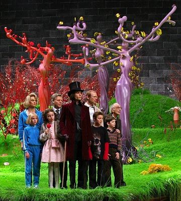 Charlie And The Chocolate Factory With Depp Fabrica De Chocolate
