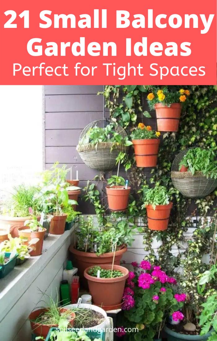 Photo of 21 Small Balcony Garden Ideas for Tight Spaces