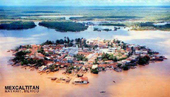Resultado de imagen para isla de mexcaltitan  Lugares que visitar