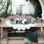 REAL WEDDING: Antoinette Sofa with Orion Table as Head Table