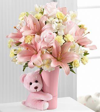 Ftd Baby Girl Big Hug Bouquet Premium Price 57 90 The