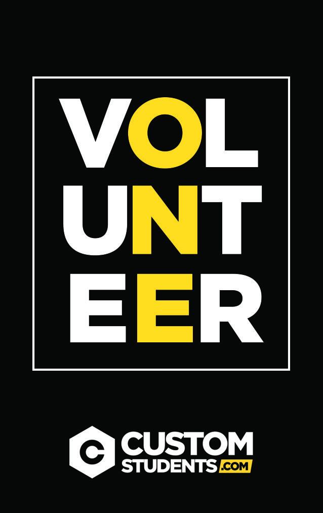 Card for volunteer lanyards  | Leadership | Church graphic
