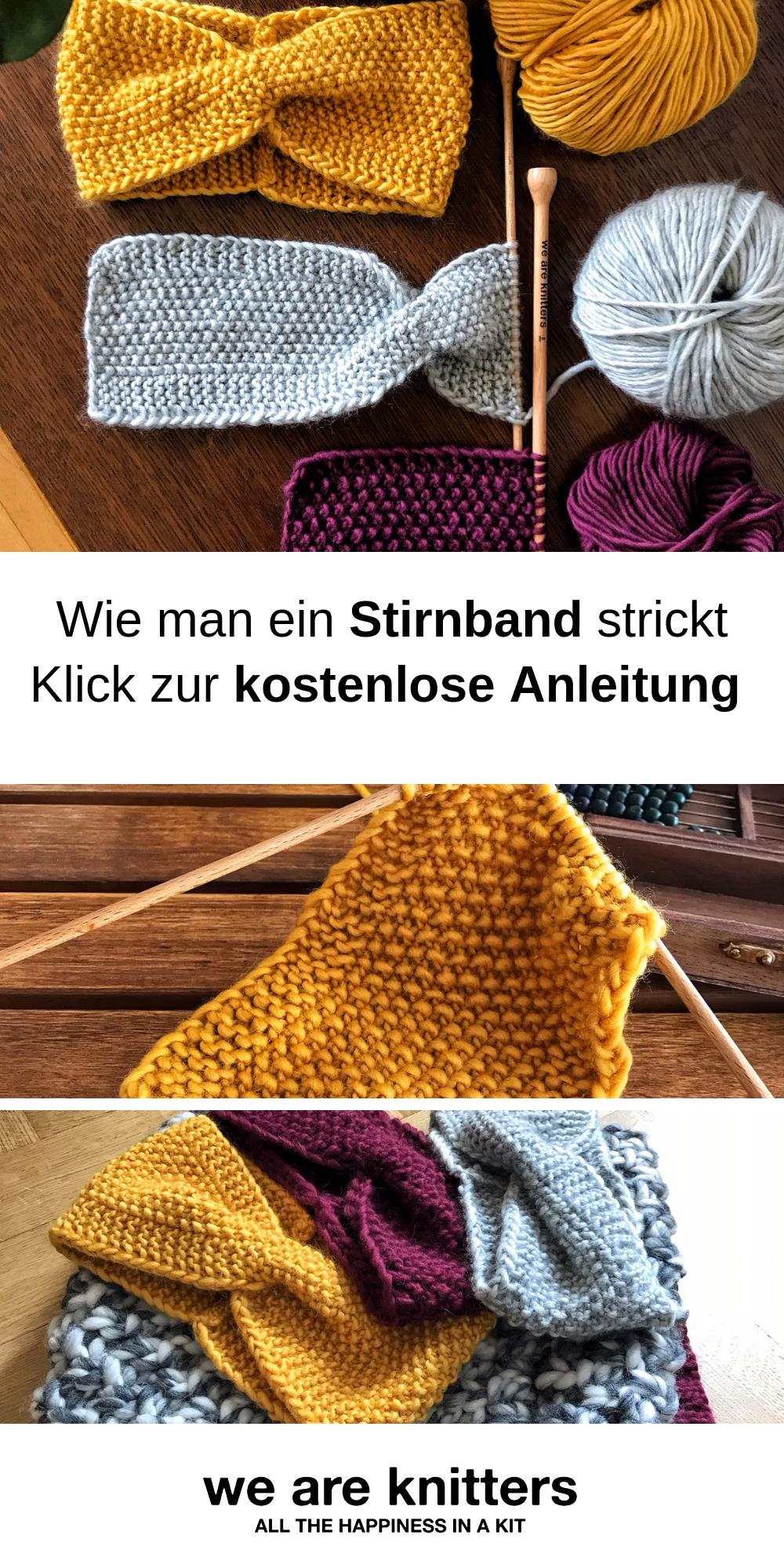 Photo of Stirnband stricken – kostenlose Anleitung