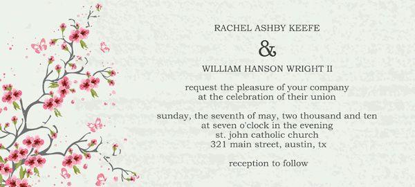 Wedding Invitation Wording Lds Temple wedding invitations - wedding announcement template