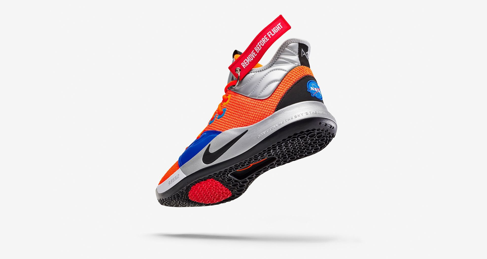 Nike PG 3 NASA 'Total Orange' Release Date | Sneakers, Paul
