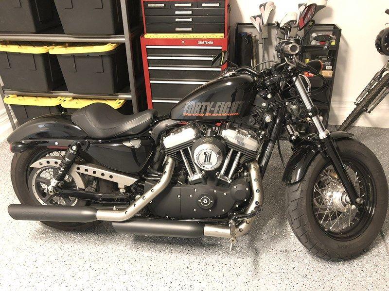 2012 HarleyDavidson® XL1200X Sportster® FortyEight