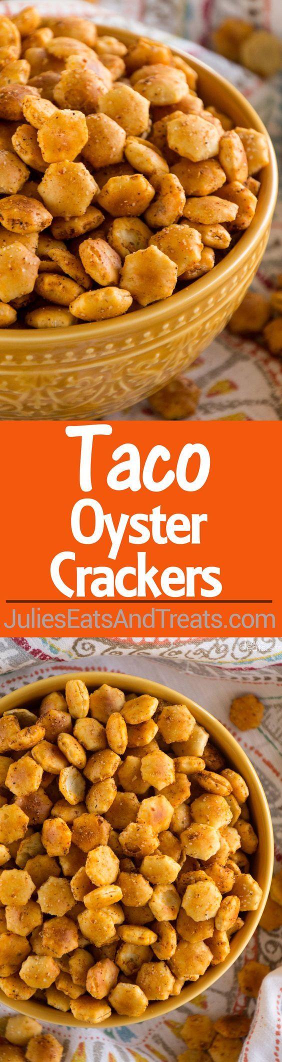 Taco oyster crackers recipe quick easy snack recipe with a kick taco oyster crackers recipe quick easy snack recipe with a kick that nobody will solutioingenieria Choice Image