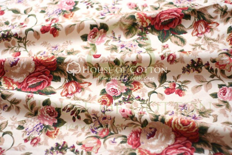 Tkaniny Obiciowe W Kwiaty Szukaj W Google Floral Pattern Cotton Fabric