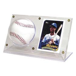 Baseball Card Holder Acrylic 7 14 X 2 12 X 4 Holds