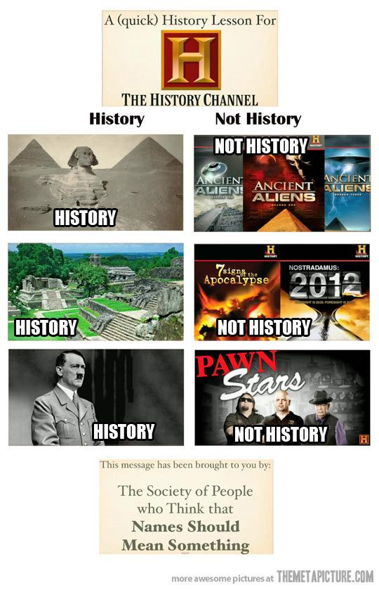 1517ec74548e61149dcbeb017ae670be history channel can't get it right history channel, funny,History Channel Funny Memes
