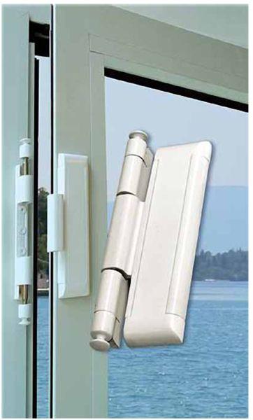 Double Bolt Slab Lock Makes Slab Hinged Doors High