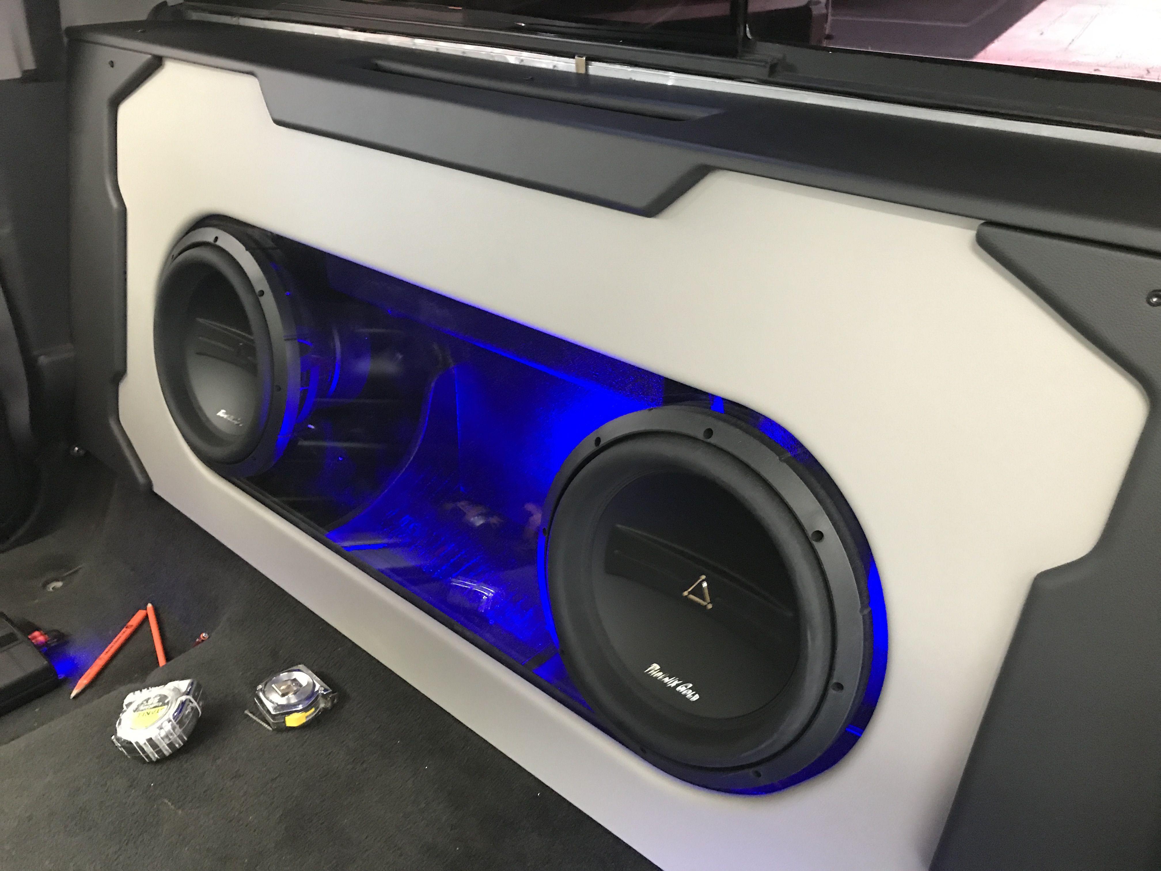 Plexiglass Subwoofer Enclosure Custom Subwoofer Enclosure Car Audio Subwoofers Subwoofer Enclosure