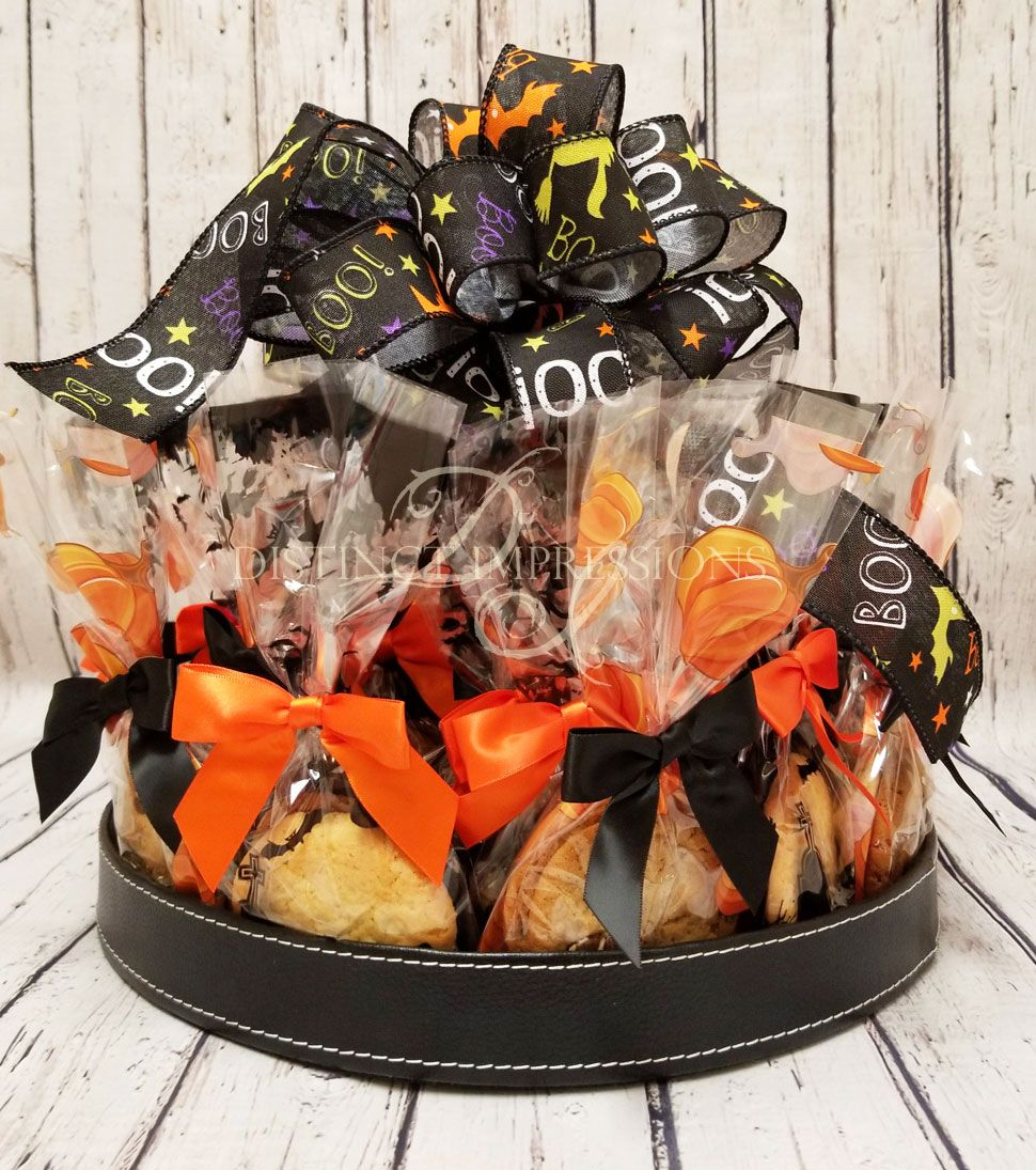$60.00 Halloween Cookie Platter Office Gift - Large ...