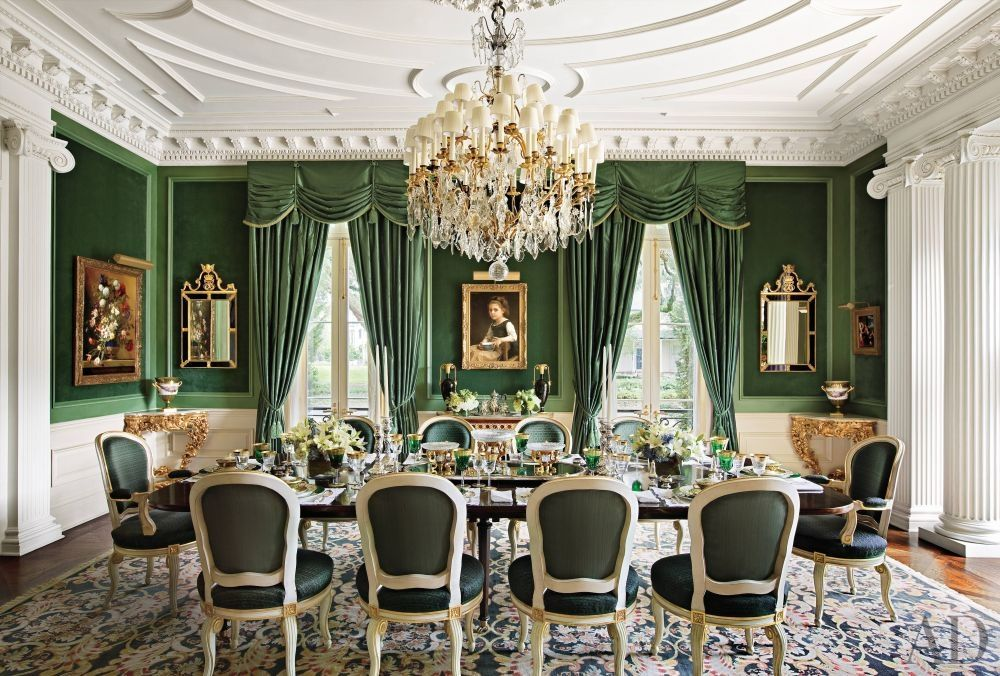 Traditional Dining Room By Alexa Hampton And Peter M Trapolin In New Orleans Louisiana
