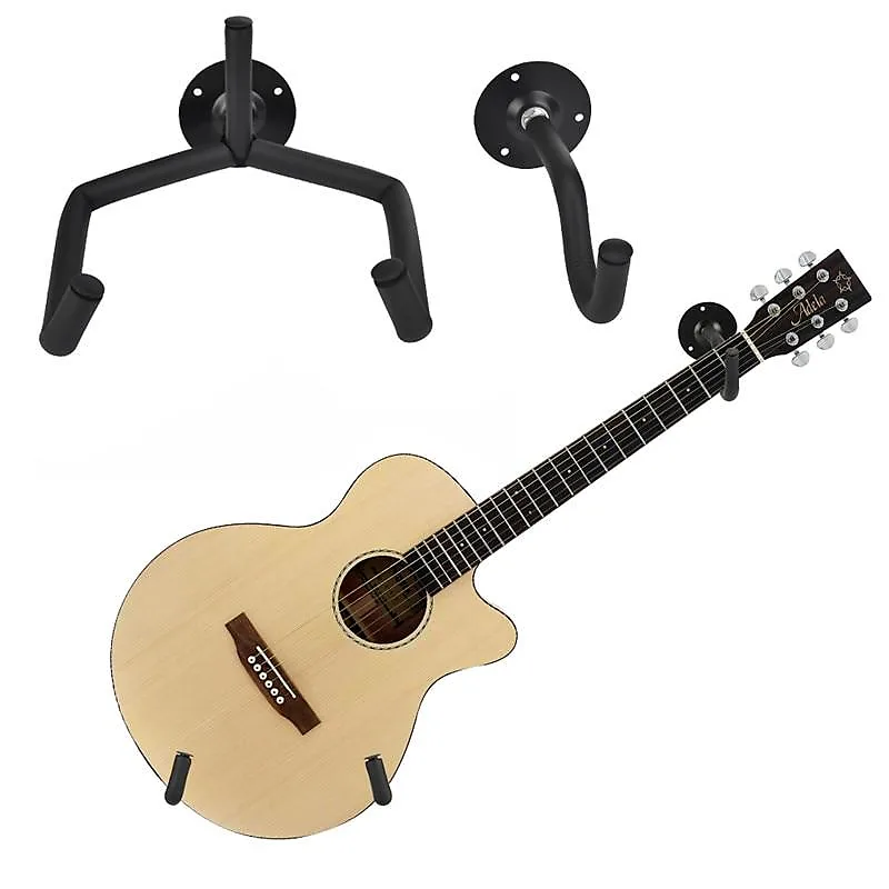 2 Pieces Horizontal Guitar Wall Mount Gear Up Cover Up Reverb Guitar Wall Guitar Guitar Stand