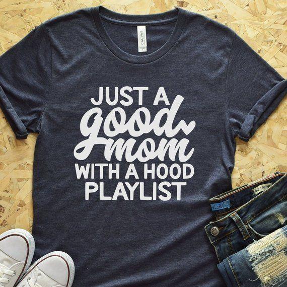 Good Mom Shirt Hood Mom Mom Music Shirt Shirts for Mom   Etsy