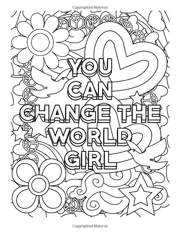 Amazon Com Inspirational Coloring Books For Girls You Got This