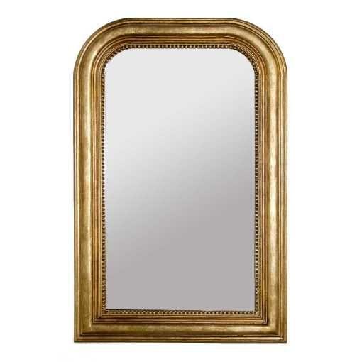 Un grand miroir doré, un achat qui peut aller partout  entrée