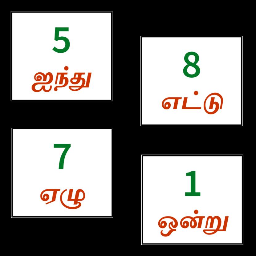 எண்கள்(Tamil Numbers) Keywords: Free,printable,learn,playtime,kids,toddler, Preschool,mom,teacher… Teacher Activities, Preschool Mom, Birthday  Display In Classroom