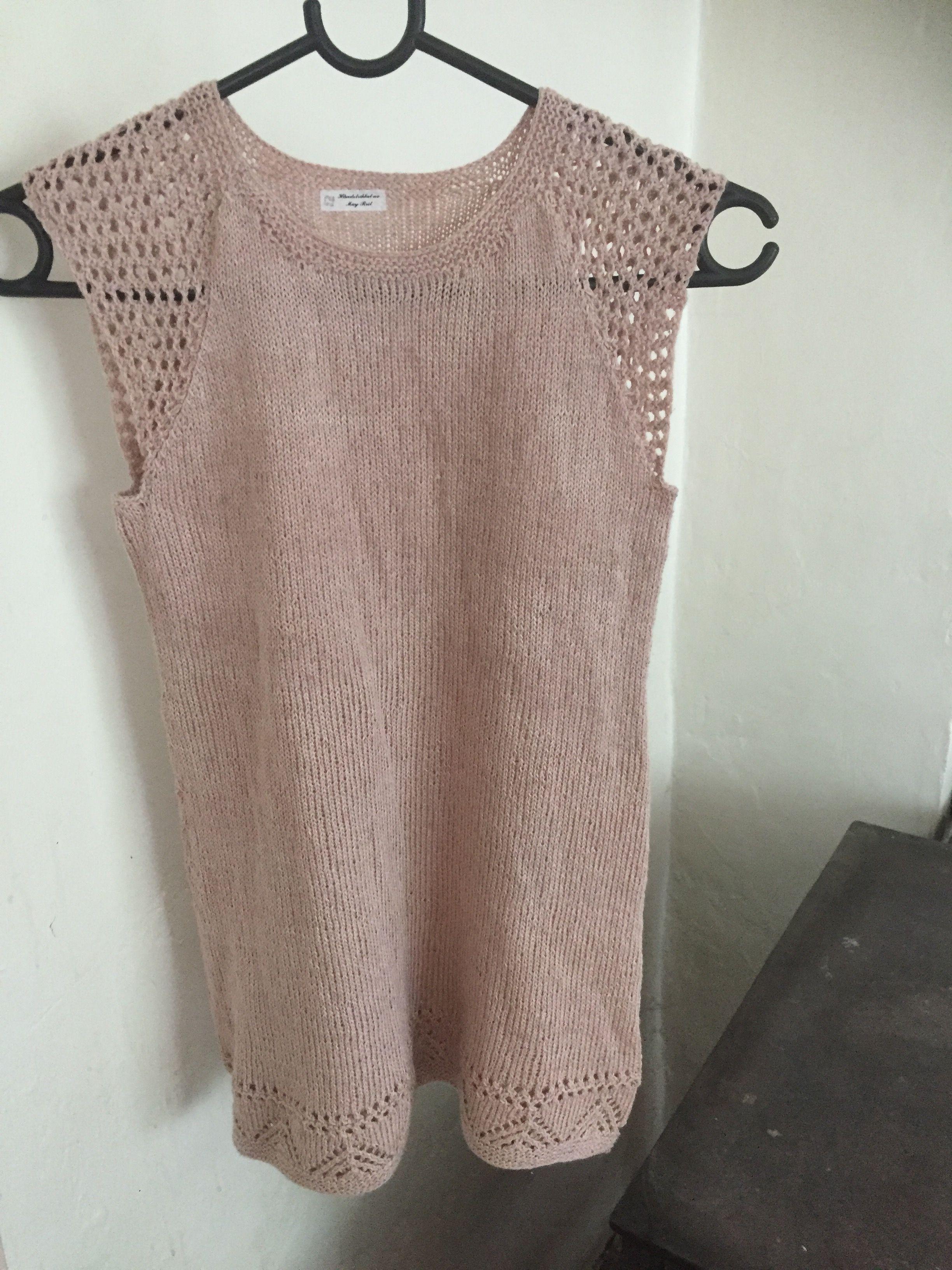 6cc47782 Hullmønster kjole i Tynn Line fra Sandnes garn | Genser | Genser ...