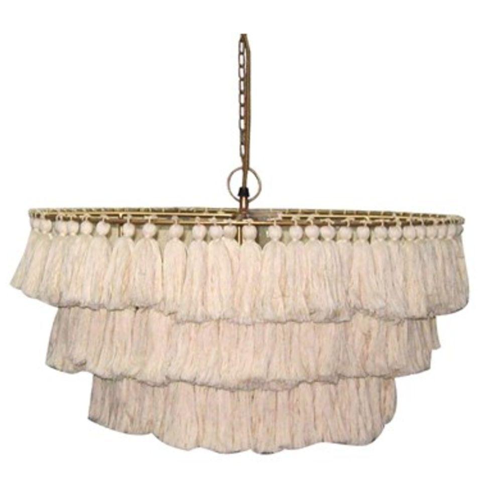 Fela tassel chandelier tassels chandeliers and lights fela tassel chandelier nursery chandelierchandelier arubaitofo Images
