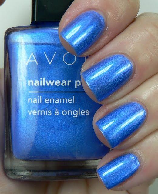Avon Nailwear Pro Nail Enamel In Cosmic Blue