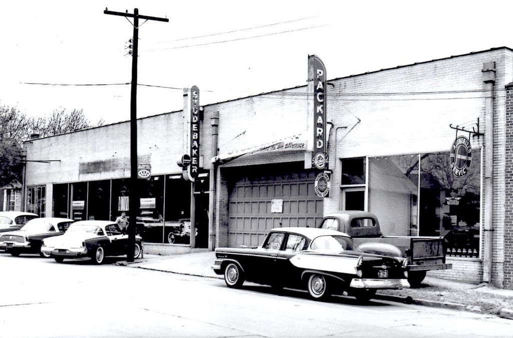 1957 Robinson Motors StudebakerPackard Dealership