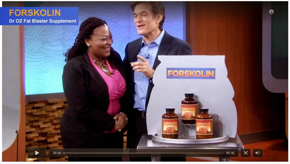 dr oz forskolin extract