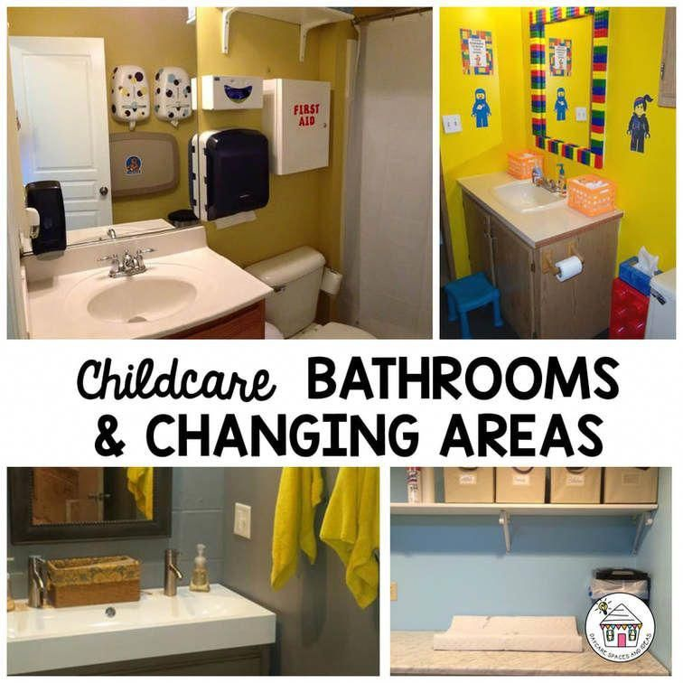 Home Daycare Design Ideas: A Collection Of Childcare Bathrooms, And Changing Areas