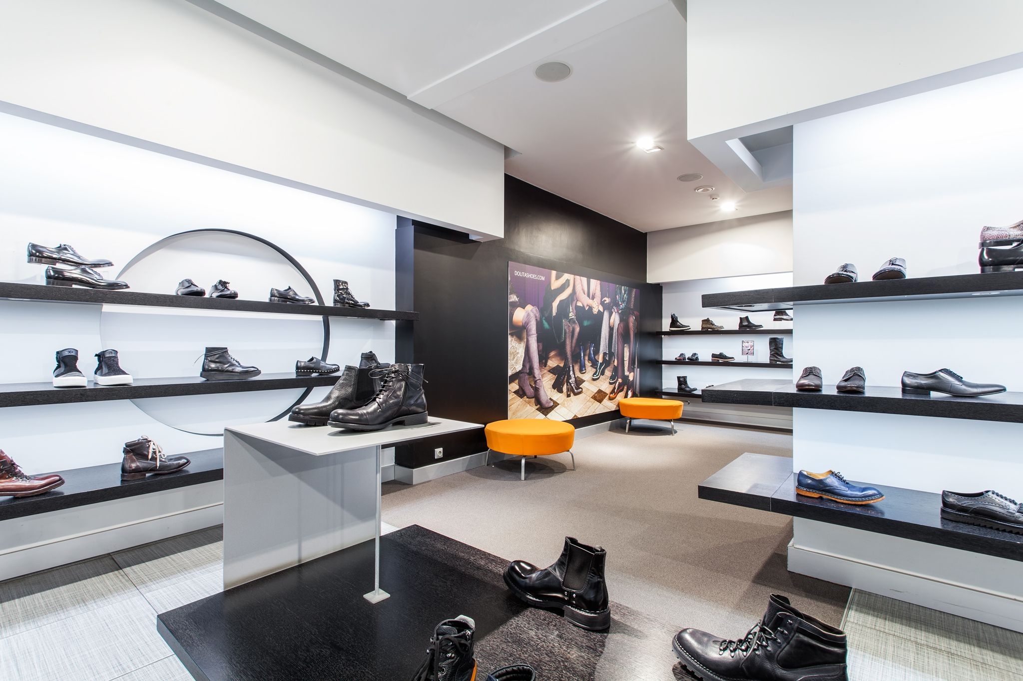 DOLITA shoes store. Modern | Light