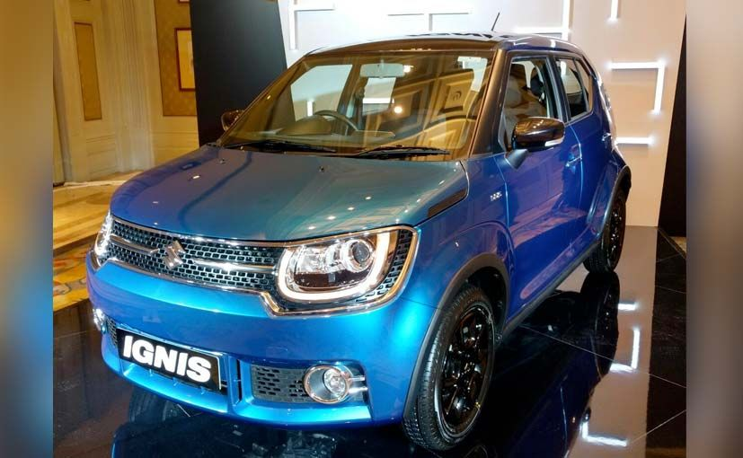 Maruti Suzuki Ignis: Launched In India, Prices Start At Rs 4.59 Lakh