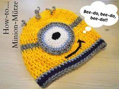 Anleitung Einer Minion Mütze Häkeln Pinterest Crochet Hats