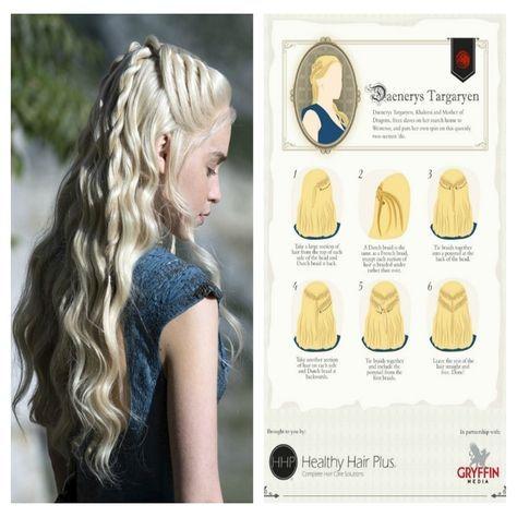 Game Of Thrones Inspired Hairstyles Selbstgemachte Frisuren Mittelalterliche Frisuren Haartutorial
