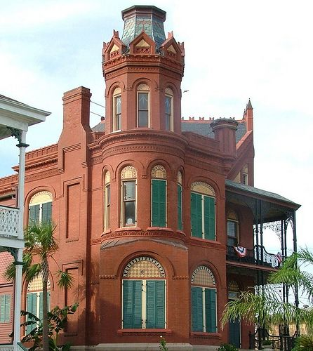 Galveston, TX Brick Mansion, July 2010