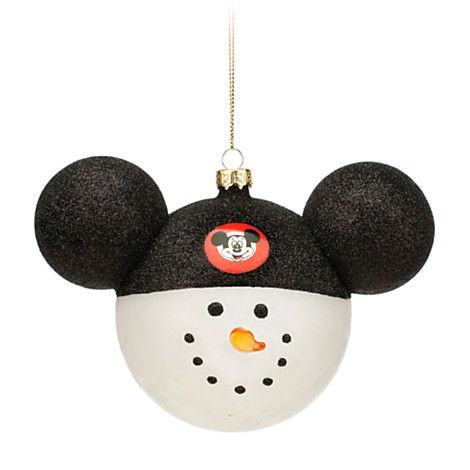 Mickey mouse club snowman ornament disney store disney board christmas clubthis mickey mouse club snowman ornament will be as welcome as can be this holiday the large glass bauble features a black glittering ear solutioingenieria Gallery