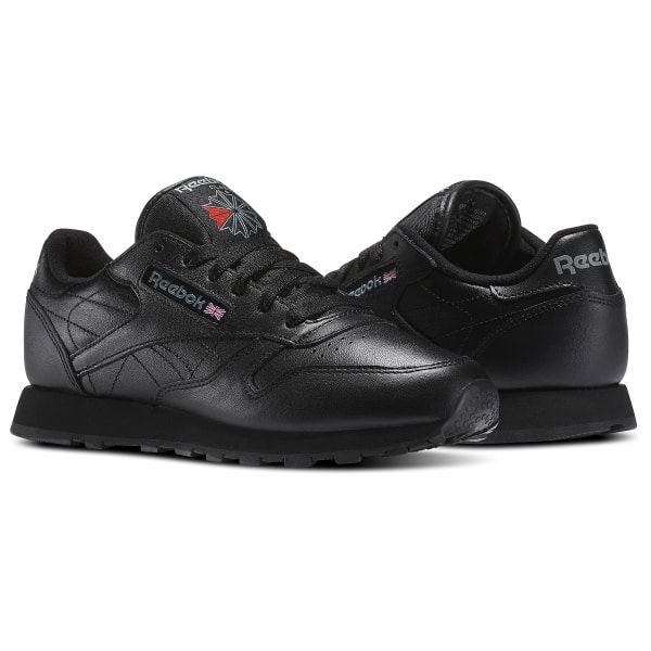 Reebok Shoes Women's Classic Leather in Black Size 5