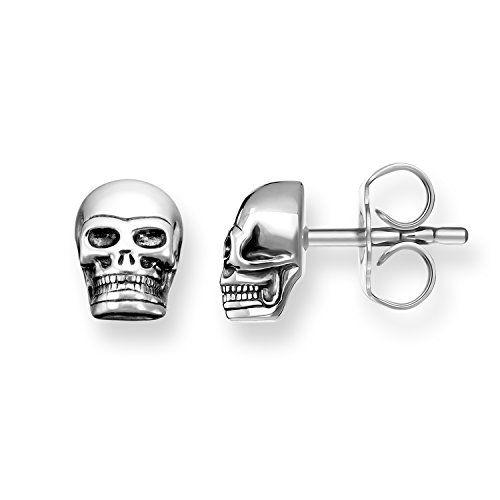 280ac2652 Thomas Sabo H1731-001-12 Sterling Silver 925 Stud Earrings | Women ...